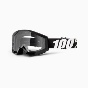 100 Percent Strata Outlaw Motocross Goggles - Clear Lens