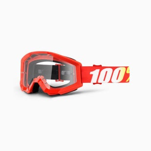 100 Percent Strata Furnace Motocross Goggles - Clear Lens