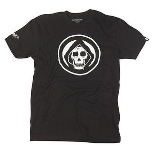 Fasthouse AdultThe Viewing Death Crew Short Sleeve T-Shirt - Black
