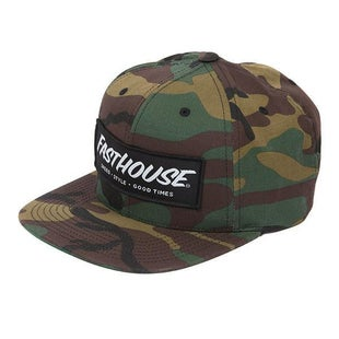 Fasthouse Adult Speed Style Good Times Cap - Camo