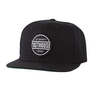 Fasthouse Adult LA County Cap Cap - Black