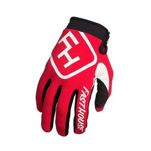 Fasthouse Speed Style YOUTH Motocross Gloves - Red