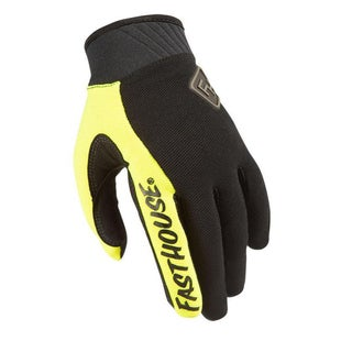Fasthouse Grindhouse 20 Motocross Gloves - Flo Yellow