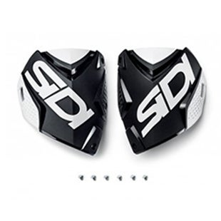 Sidi Crossfire 2 Shin Plate Motocross Boot Spares - Black White