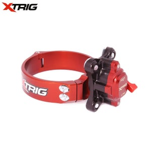 XTrig HiLo Launch Control 54mm 48mm Fork Suzuki RMZ450 13 Holeshot Launch Control - Red