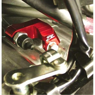 Zeta Clutch Cable Guide Honda CRF250R 1013 Cable Guide - Red