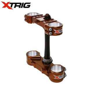 XTrig Triple Clamp Set Kawasaki KX85 07 Triple Clamp - 14 M12