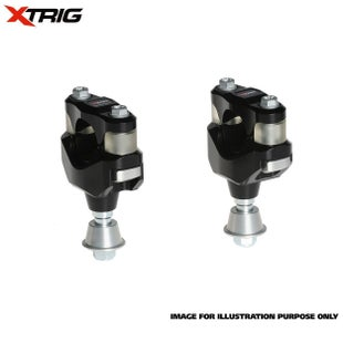 XTrig Bar Mount Kit OEM PHDS Rubber Kawasaki KXF 13 HandleBar Mount - 17 Size 28.4mm Bar Diameter