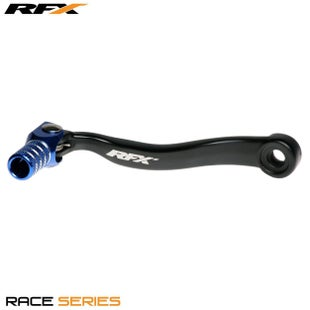 RFX Race Gear Lever (black/blue) Husqvarna Fc250/350 16>on , Gear Lever - Blue