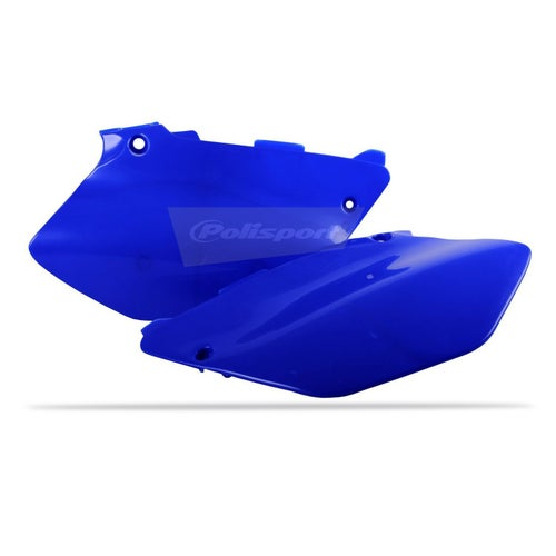 Polisport Plastics Side Panel Yamaha YZ125 250 02 Side Panel Plastic - 14 Blue 98