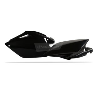 Polisport Plastics Side Panel Honda CRF250 06 Side Panel Plastic - 09 Black