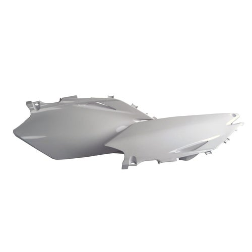 Side Panel Plastic Polisport Plastics Side Panel Honda CRF450 09 - 10 White
