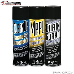 Maxima Chain Syn Guard Maintenance Combo Kit 3 Pack Chain Lube & Cleaning - hain Syn Guard Maintenance Combo Kit 3 Pack