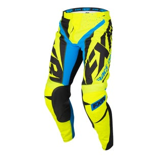 FXR Clutch Prime , MX-bukser - Hivis/black/blue