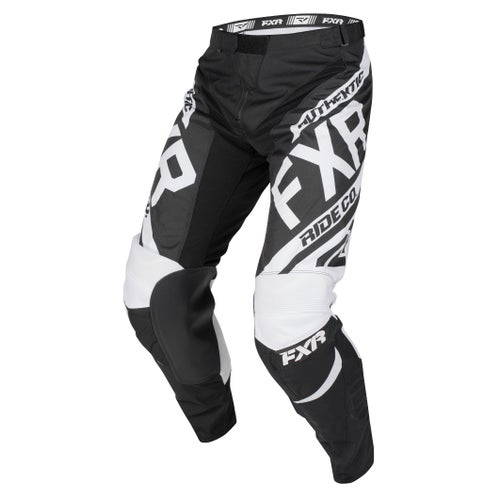 FXR Clutch Retro Motocross Pants - Black/white