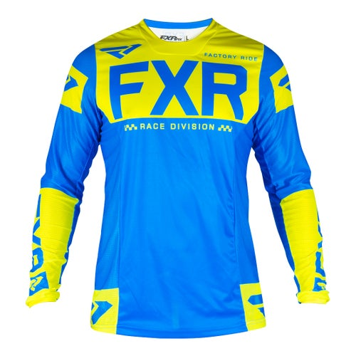 Jerseys MX FXR Helium - Blue/hivis