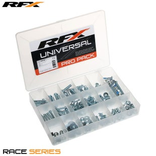 RFX Race Series Pro Bolt Pack (jap Style) Metric Generic Bolt Pack - Silver