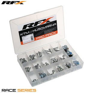 RFX Race Series Pro Bolt Pack (oem Style) Ktm/husqvarna/husaberg , Bike Specific Bolt Pack - Silver