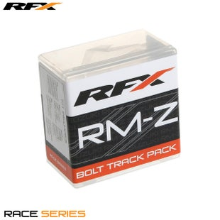 RFX Race Series Track Pack Suzuki Rm/rmz Style Bike Specific Bolt Pack - Silver