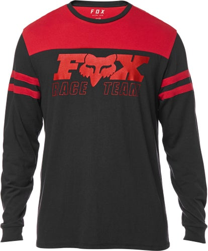 Fox Racing Race Team Airline Long Sleeve T-Shirt - Blk