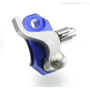 Zeta Rotating Bar Clamp with Hot Start Lever Rotator Clamp - Blue