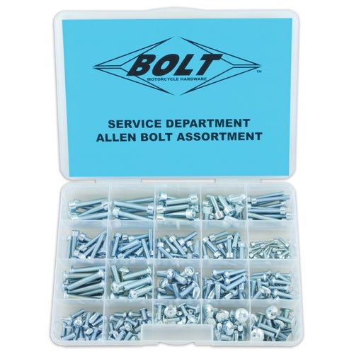 Bolt Hardware Allen Assortment Box Generic Bolt Pack - grey