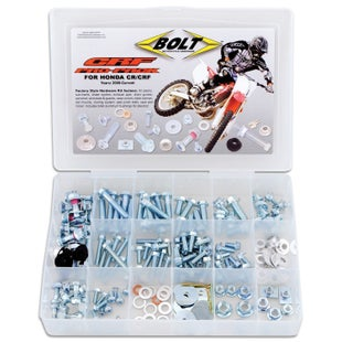 Bolt Hardware Honda CRF Style Pro Pack Fastener Kit Bike Specific Bolt Pack - onda CRF Style Pro Pack Fastener Kit