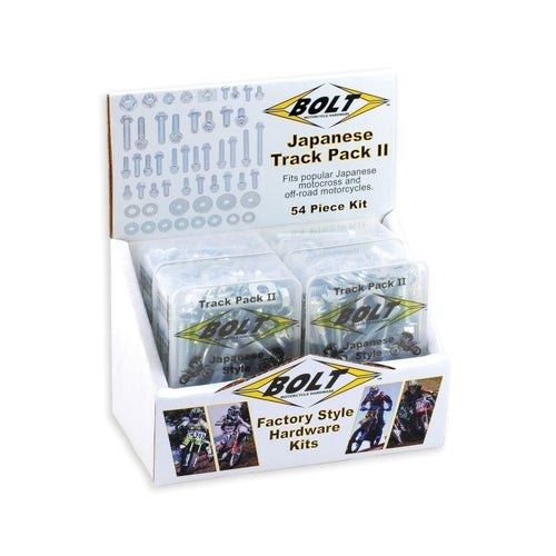 Bolt Hardware Suzuki RM RMZ Style Track Pack Fastener Kit 6Pc Box Set Bike Specific Bolt Pack - uzuki RM RMZ Style Track Pack Fa