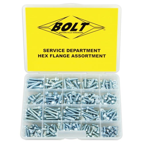 Bolt Hardware Flange Assortment Box Generic Bolt Pack - lange Assortment Box