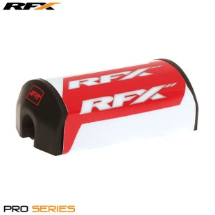 RFX Pro Series F7 Taper Bar Pad 286mm Red , Bar Pad - Red