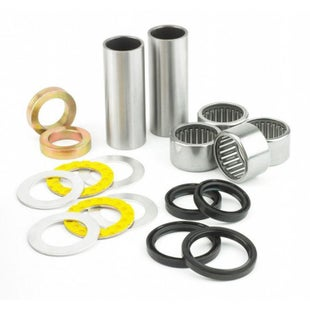 All Balls Swing Arm Linkage Bearing Kit Honda CR500 93 , Swing Arm Linkage Kit - grey