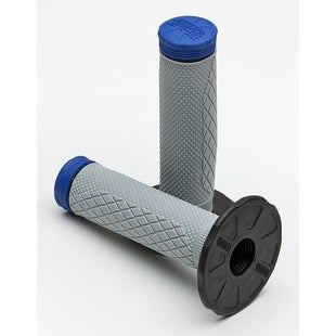 Pro Taper Synergy Tri Density Full Diamond MX Handlebar Grip - Blue