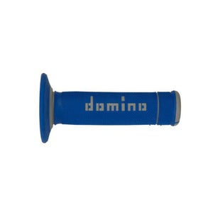 Domino Grip OffRoad X MX Handlebar Grip - Treme Blue Grey