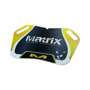 Matrix M25 Pit Board Rider Pit Accessory - Yellow