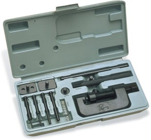 Chain Breakers & Riveting Motion Pro Chain Breaker and Rivet Tool Kit - grey