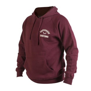 Fasthouse Worldwide Pullover Hoody - Maroon
