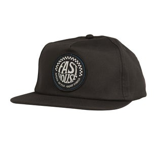 Fasthouse Stamped Spade Cap - Black