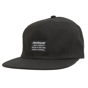 Fasthouse Neighborhood Unstructured Cap - Black