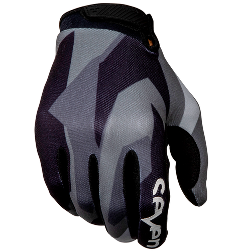 Seven 19.1 Annex Raider Youth Youth Motocross Gloves - Black Grey