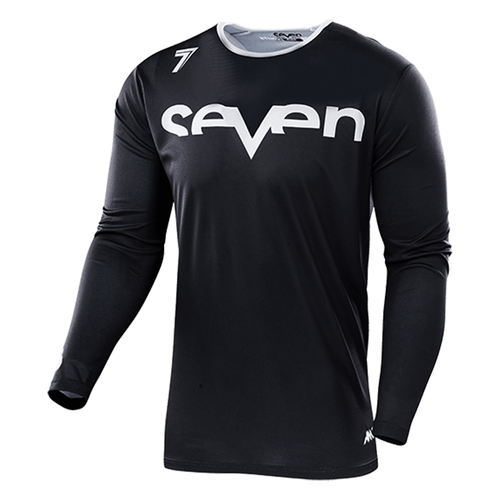 Seven 19.1 Annex Staple Youth Youth Motocross Jerseys - Black