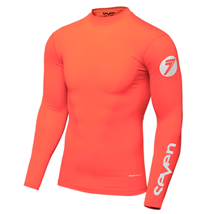 Seven 19.1 Zero Youth Compression Motocross Jerseys - Coral