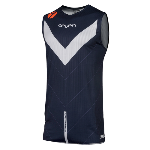 Camisola MX Seven 19.1 Zero Youth Victory Over - Navy Coral