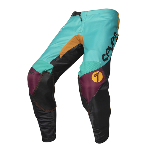 Seven 19.1 Annex Youth Exo Youth Motocross Pants - Black Aqua