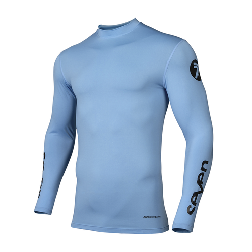 Seven 19.1 Zero Compression Motocross Jerseys - Blue