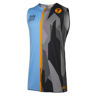 Seven 19.1 Zero Raider Over Motocross Jerseys - Blue Black