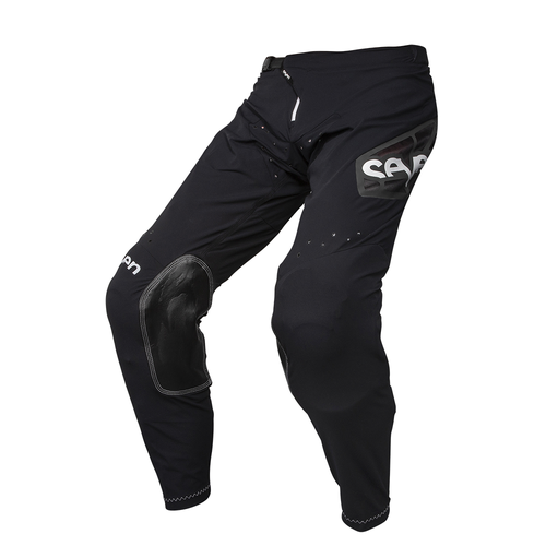 Seven 19.1 Zero Raider Motocross Pants - Black Aqua
