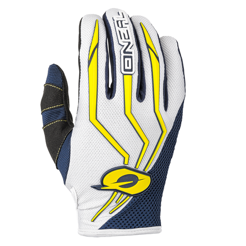 O Neal Element Motocross Gloves - Blue/yellow