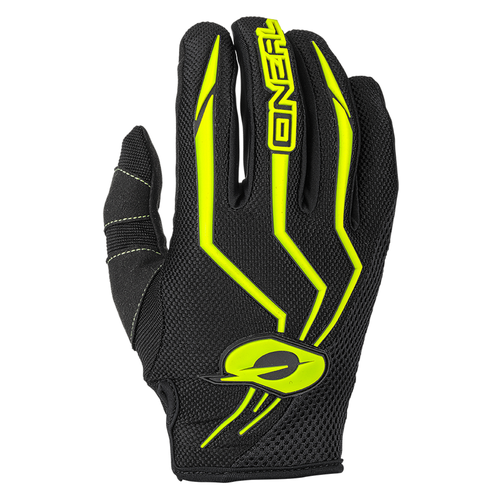 O Neal Element Motocross Gloves - Neon Yellow