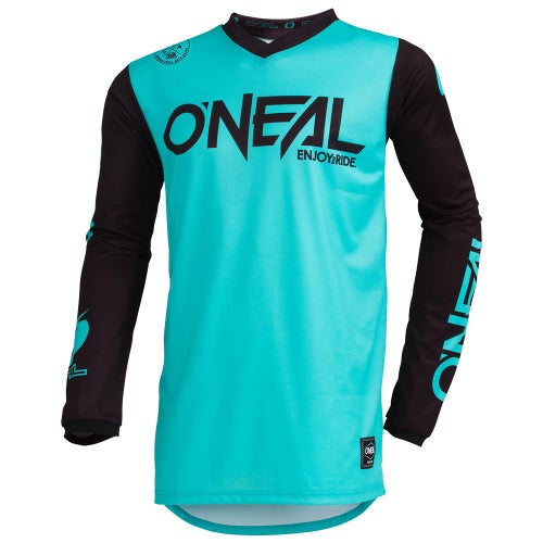 O Neal Threat Rider Motocross Jerseys - Teal