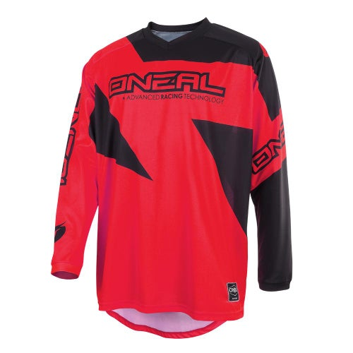 O Neal Matrix Jersey Ridewear Motocross Jerseys - Red